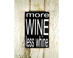 wood wine sign etsy