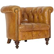 Sale Armchair Leather Chesterfield Armchair For Sale At 1stdibs