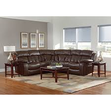 standard furniture north shore reclining sectional sofa with