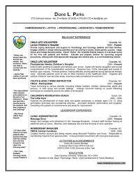 Resume Volunteer Work Volunteer Work Resume Download Winning Resume