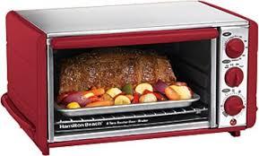 Six Slice Toaster Hamilton Beach 31173 Ensemble 6 Slice Toaster Oven Broiler Red