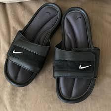 nike comfort slide sandals size m7 w8 mercari buy u0026 sell