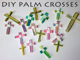 diy palm crosses from simple art supplies watercolor paper