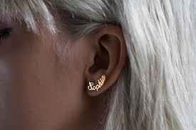 personalized name earrings name earring personalized earring personalized jewelery