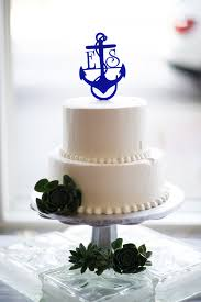nautical cake toppers memorial day navy wedding shelley erik in pensacola floridian