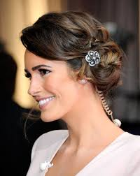 hair jewellery louise roe showed us a subtle way to try hair jewellery when she