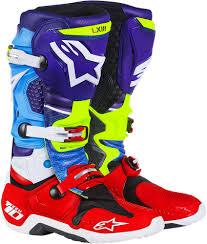 alpinestars motocross boots 599 95 alpinestars mens tech 10 limited edition venom 987356