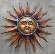 wall art designs outdoor wall art decor large copper patina sun
