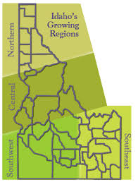 idaho zone map idaho s growing regions idaho landscapes and gardens