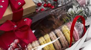 unusual history of fine food hampers as gifts for christmas in the