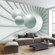 papier peint trompe l oeil pour chambre papier peint 3d créant un effet abstrait et trompe l œil saisissant