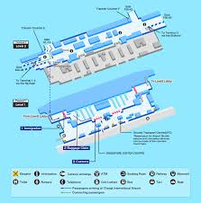 Airport Map Singapore Changi Airport Map Facility Information Ana