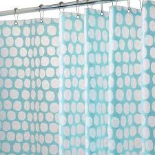 honeycomb aqua shower curtain