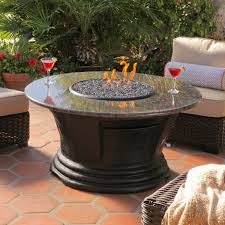 furniture fascinating outdoor living space decoration with round