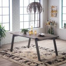 Industrial Style Dining Room Tables Distressed U0026 Industrial Style Dining Tables Hayneedle