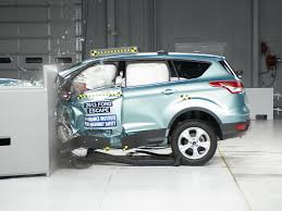 Ford Escape 2013 - 2013 ford escape driver side small overlap iihs crash test youtube