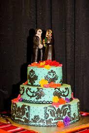 day of the dead wedding cake dia de los muertos theme wedding cake rockabelle bombshell