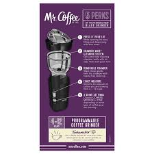 Burr Mill Coffee Grinder Reviews Mr Coffee Ids77 Electric Coffee Blade Grinder Review