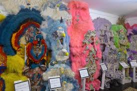 mardi gras indian costumes mardi gras indian costumes on display picture of backstreet