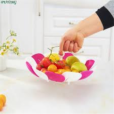 fruits baskets aliexpress buy 1 folding drain fruits baskets