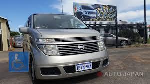 nissan elgrand accessories australia nissan elgrand u2013 mobility vehicle auto japan