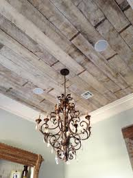 antique white wash pine ceiling our dinning and kitchen ceiling