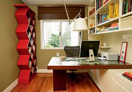 custom home office desk chic white polished office table with drawer also built in shelves