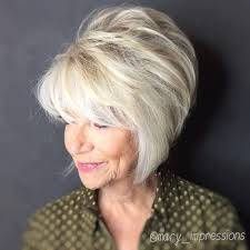 pictures of haircuts with lots of volume around crown 25 hairstyles that will make you want short hair with bangs