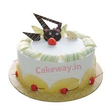 online cake delivery send pineapple birthday cake to vijayawada order pineapple cake