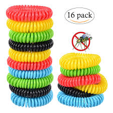 mosquito repellent bracelets pest control for kids and adults 16 pack