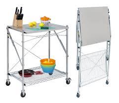 origami folding kitchen island cart kitchen ideas folding kitchen cart inspirational stainless steel