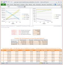 Amortization Schedule Excel Template 7 Mortgage Calculator Excel Template Procedure Template Sle