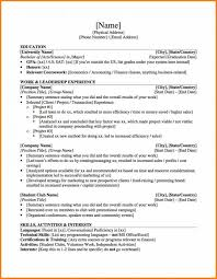 sample resume cv cover letter personal chef investment banking