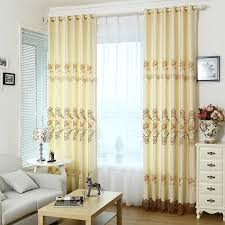 elegant and modern dining room curtains made of polyester