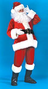 santa claus suits santa claus accessories velvet santa claus suit we sale or rent