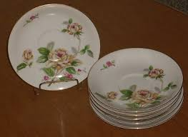 lynmore china golden vintage lynmore china golden saucers set of 6 467240169