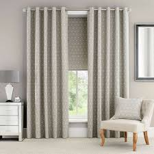 natural astra lined eyelet curtains dunelm dining room