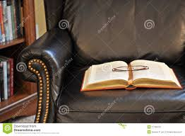 leather reading chair stock photo image of lamp indoor 9809066