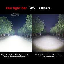 Led Light Bar Driving Lights by Tri Row 16