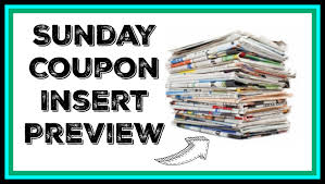 5 15 sunday newspaper coupon insert preview 4 possible coupon