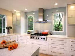 Kitchen Cabinets Omaha Door Recessed Lighting Design For Modern Kitchen Decoration With