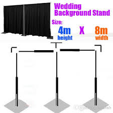 wedding backdrop stand 2018 4m x 8m wedding curtain stand backdrop pipe frame wedding