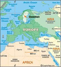 map of sweden sweden map geography of sweden map of sweden worldatlas