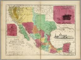 Map Of Yucatan Mexico by Map Of Mexico Texas Old And New California And Yucatan David