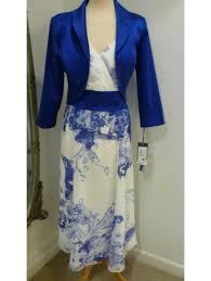 zeila floaty chiffon dress with lace applique and matching bolero