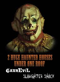 home blind scream haunted house