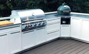 outdoor kitchen cabinet door hinges white kamado grill corner stainless steel outdoor kitchen cabinet w40056