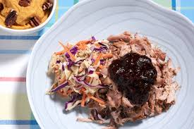 sous vide pulled pork recipe with chili pepper bbq sauce amazing