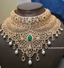 diamond necklace collection images Grand diamond necklace collection by kirtilal 39 s jewellery designs jpg