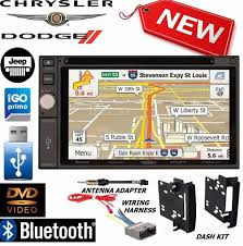 chrysler jeep dodge chrysler jeep dodge jensen navigation double din dvd radio stereo